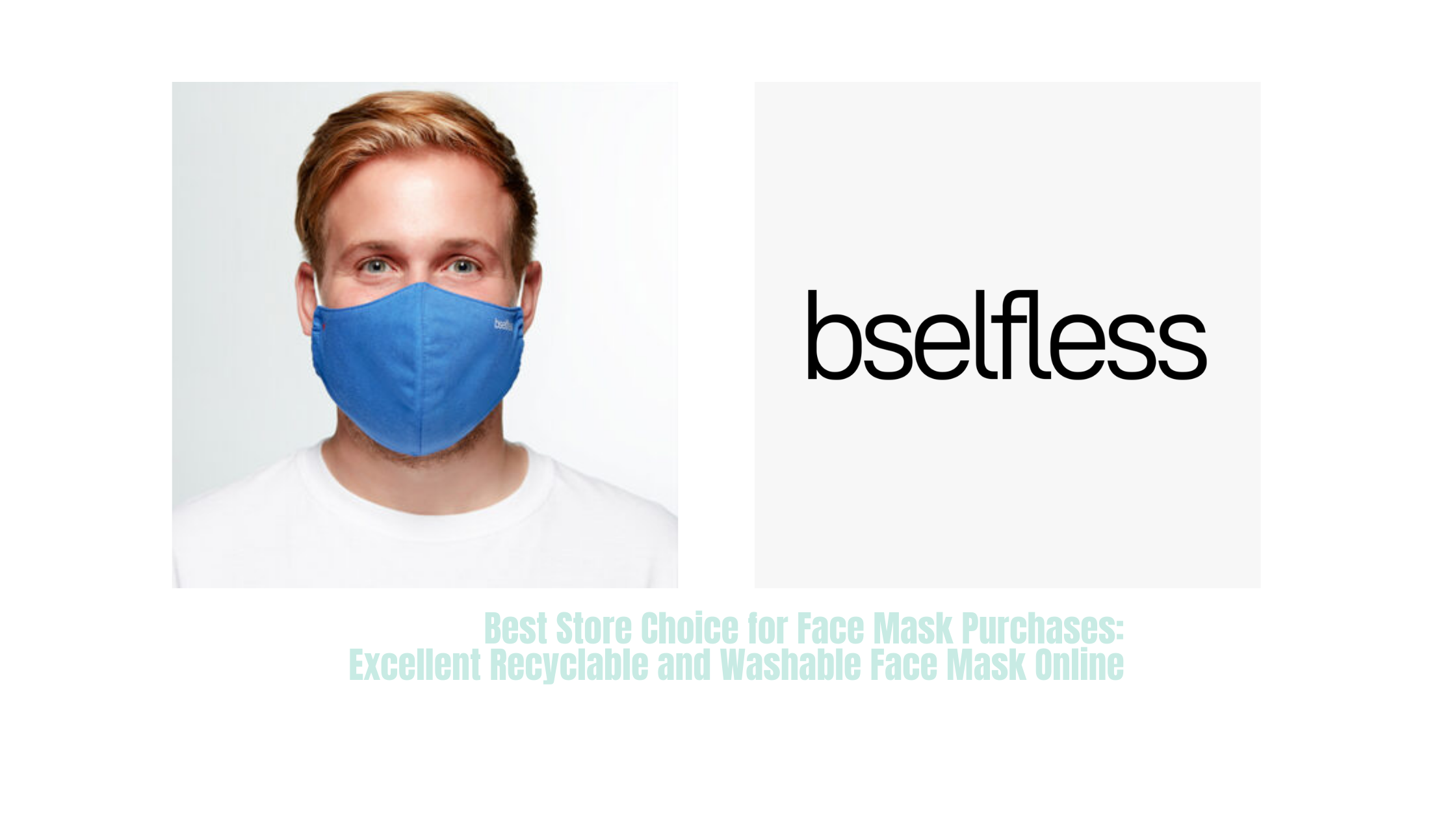 Best Store Choice for Face Mask Purchases: Excellent Recyclable and Washable Face Mask Online